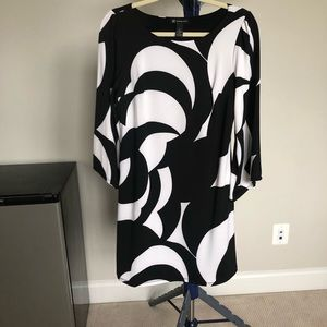 INC black and white dress, Small
